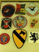 1100 VIETNAM MILITARY PATCHES METAL INSIGNIA SIGNS