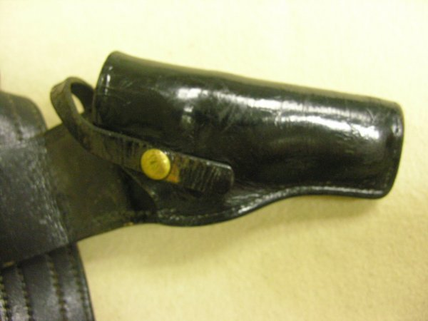1390: VINTAGE DON HUME BELT AND HOLSTER - 2