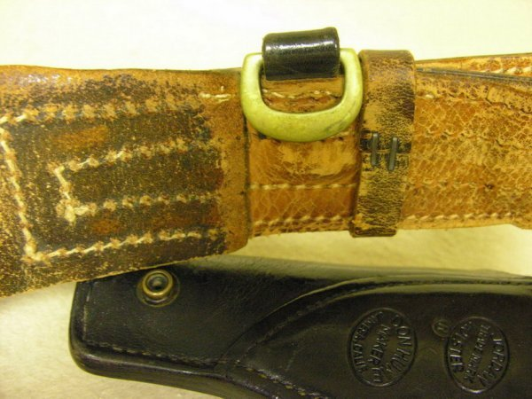 1390: VINTAGE DON HUME BELT AND HOLSTER - 7