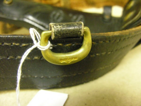 1390: VINTAGE DON HUME BELT AND HOLSTER - 8