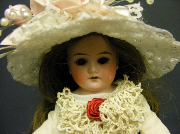 502: DRESSEL BISQUE SHOULDER HEAD 13'' DOLL