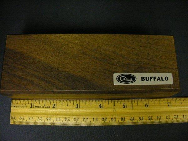 604: CASE XX BUFFALO POCKET KNIFE