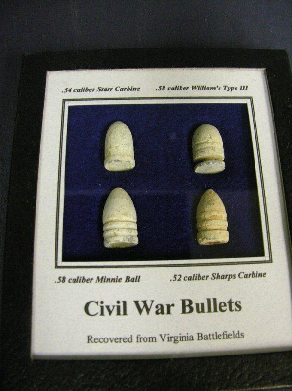 605: CIVIL WAR BATTLEFIELD BULLETS