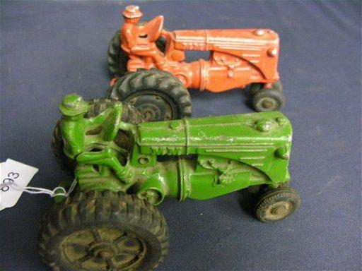 Metal Toy Tractors >> 893 Two Mm Cast Metal Toy Tractors