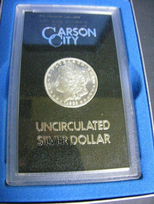 1506: 1882 C.C. U.S. MORGAN SILVER DOLLAR