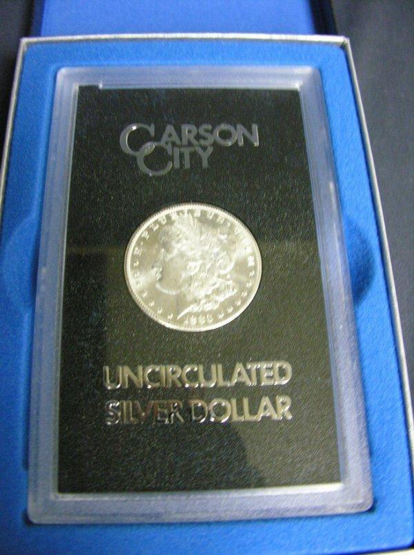 1508: 1883 C.C. U.S. MORGAN SILVER DOLLAR