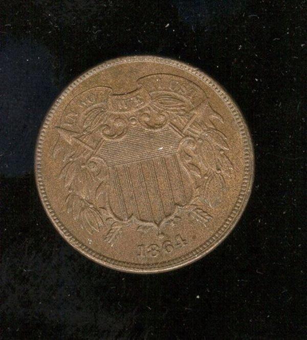 1518: 1864 U.S. TWO CENT PIECE