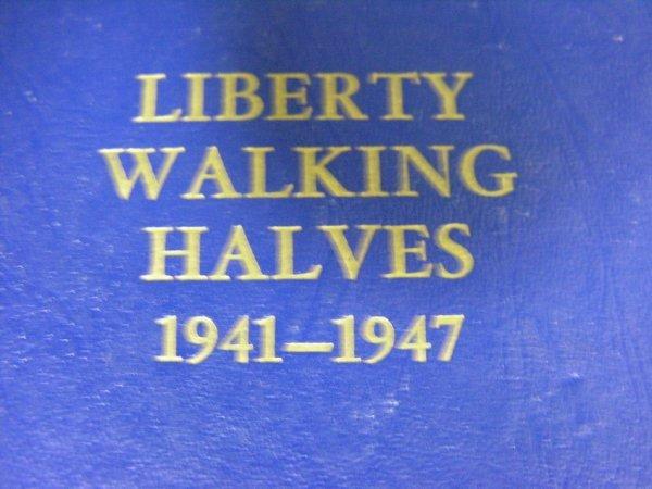 1638: 1941-47 U.S. WALKING LIBERTY SILVER COIN SET