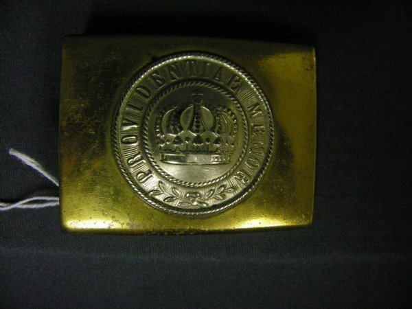 2267: WWI GERMAN PROVIDENTIAE MEMOR BELT BUCKLE
