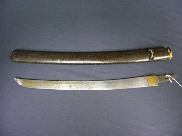 1952A: WWII JAPANESE SWORD BLADE AND SCABBARD