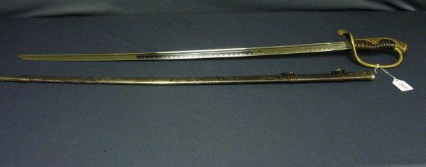 2477: WWII CAPTURED JAPANESE SWORD