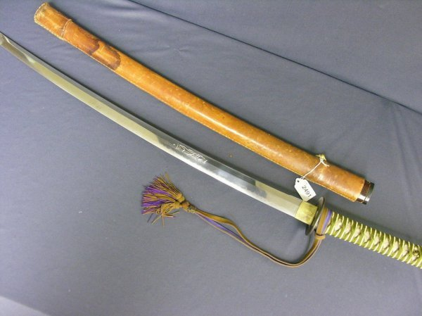 2491: WWII CAPTURED JAPANESE SWORD
