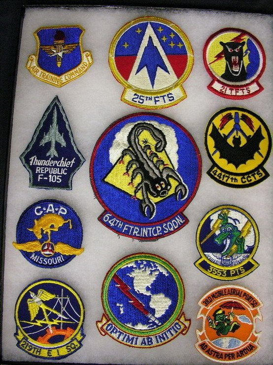2813: MILITARY PATCHES