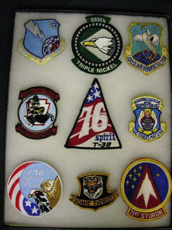 2815: MILITARY PATCHES