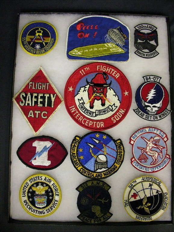 2816: MILITARY PATCHES