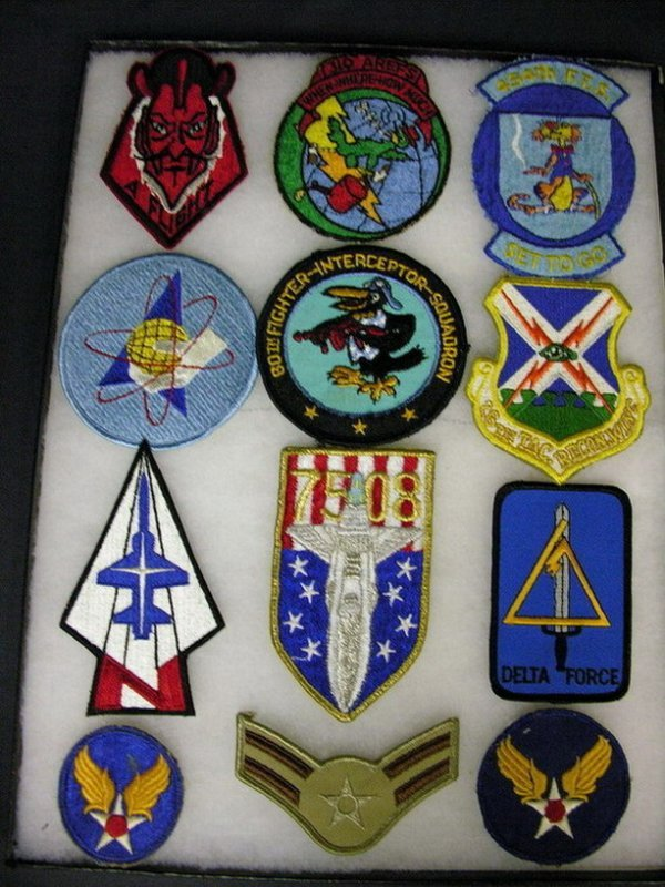 2818: MILITARY PATCHES