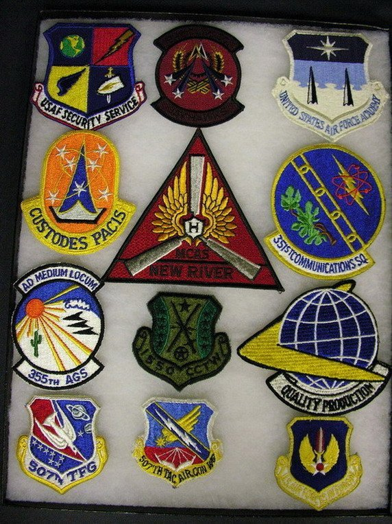2819: MILITARY PATCHES