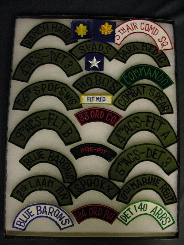 2820: MILITARY PATCHES