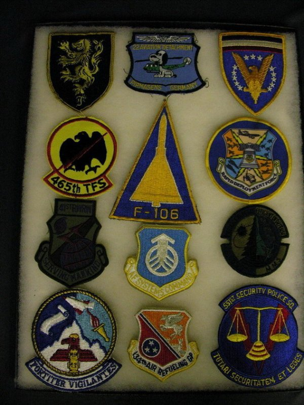 2821: MILITARY PATCHES