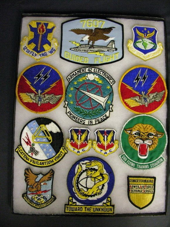 2824: MILITARY PATCHES