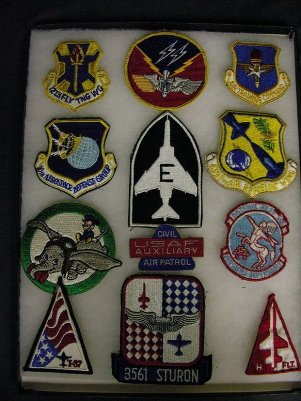 2825: MILITARY PATCHES