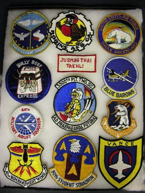 2826: MILITARY PATCHES