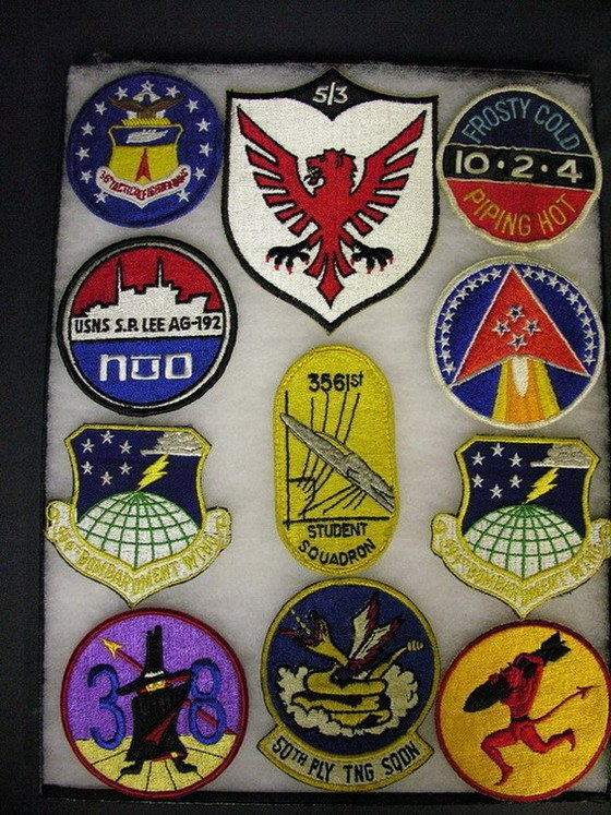 2827: MILITARY PATCHES