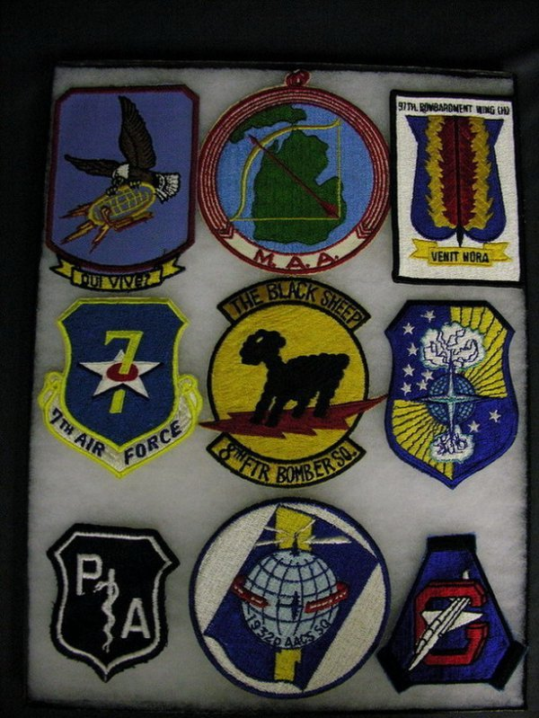 2829: MILITARY PATCHES