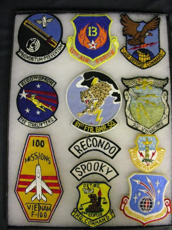 2830: MILITARY PATCHES