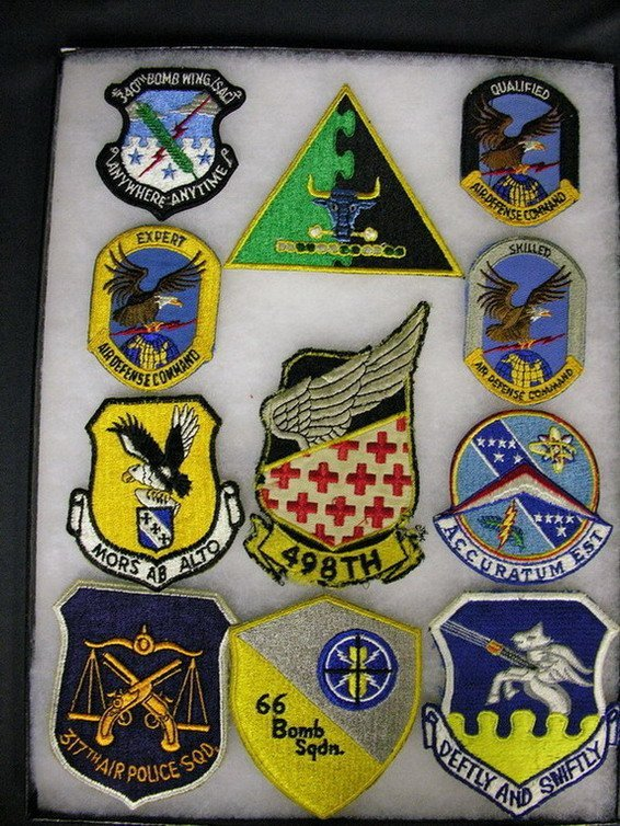 2831: MILITARY PATCHES