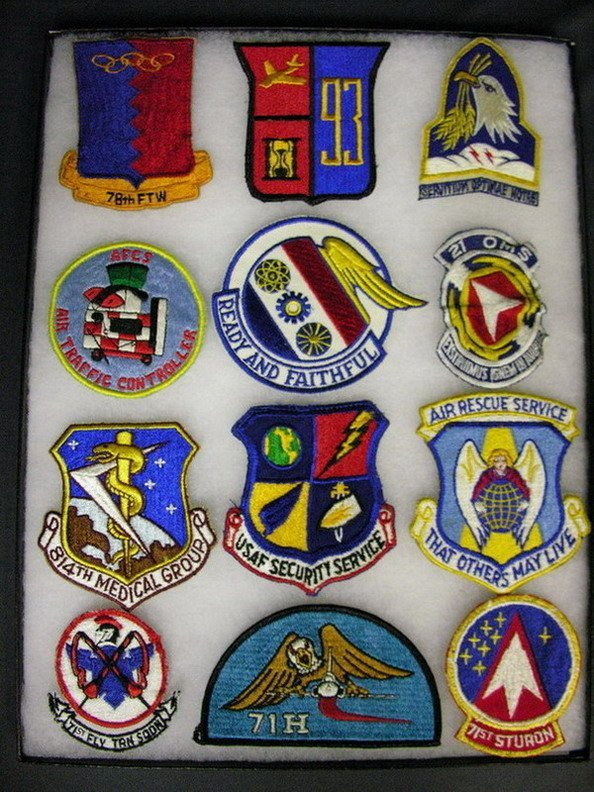 2833: MILITARY PATCHES