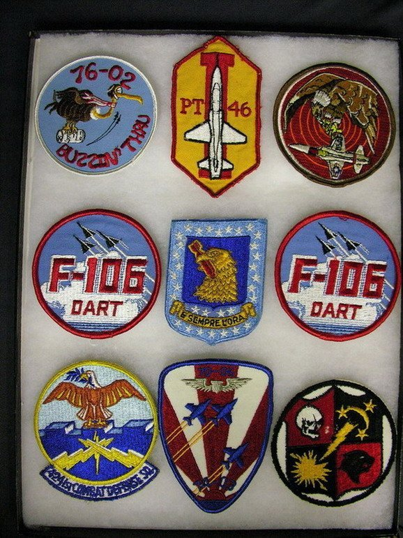 2834: MILITARY PATCHES