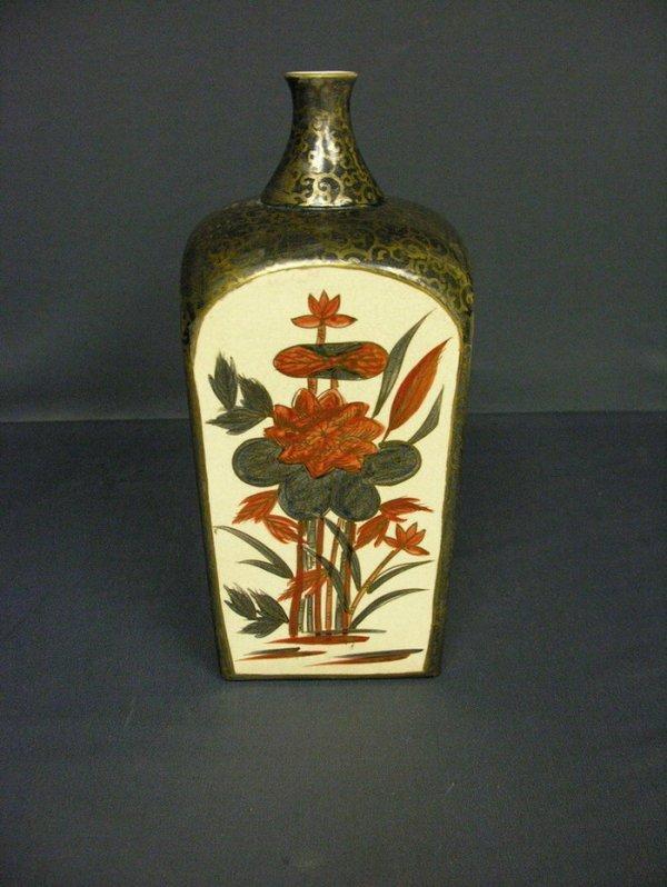 3003: JAPANESE SATSUMA VASE