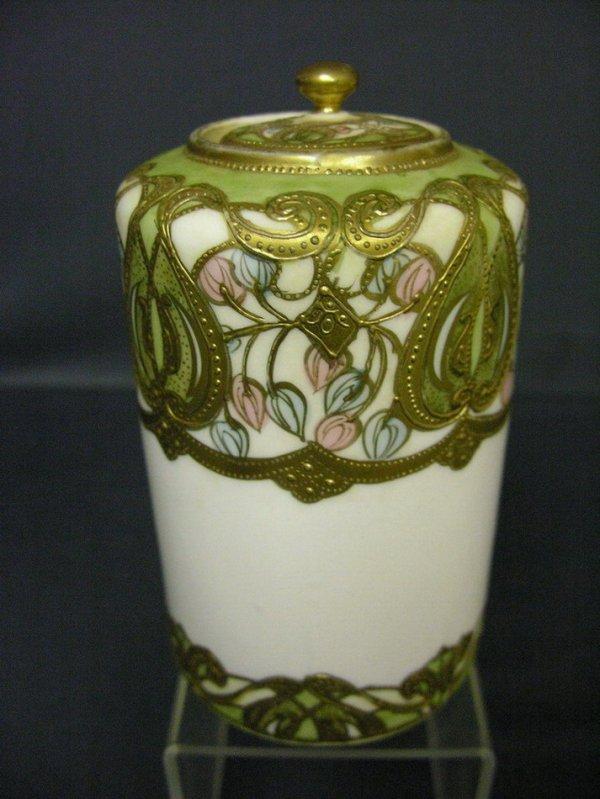 3011: NIPPON LIDDED JAR VASE