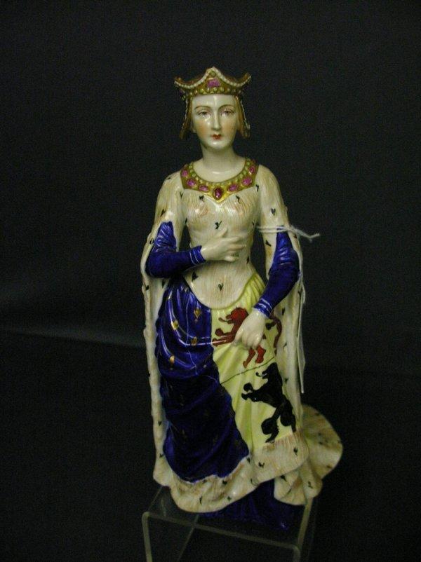 3017: DRESDEN CARL THIEME MARIE DE HAINAUT FIGURINE