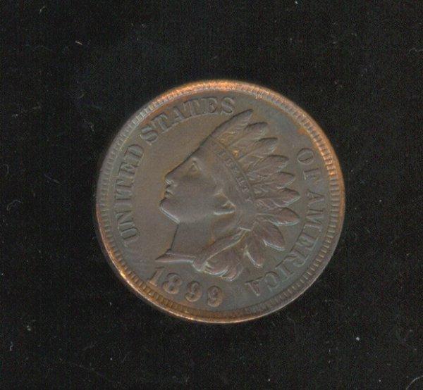 3503: 1899 U.S. INDIAN HEAD CENT