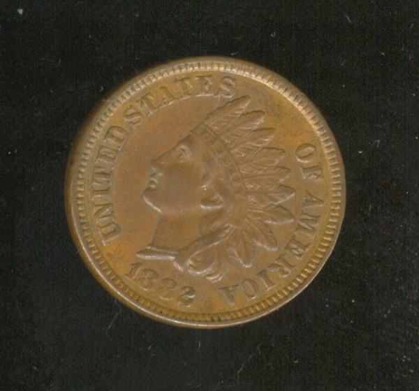 3512: 1882 U.S. INDIAN HEAD CENT