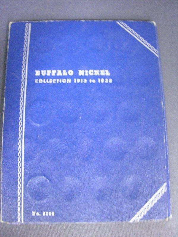 3518: BUFFALO NICKEL BOOK