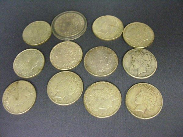 3519: U.S. SILVER DOLLARS 1887-1935S