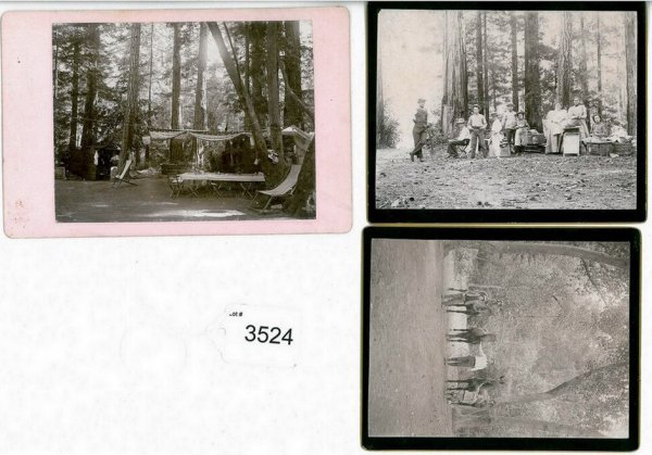 3524: 1800s BOULDER CREEK CABINET PHOTOS
