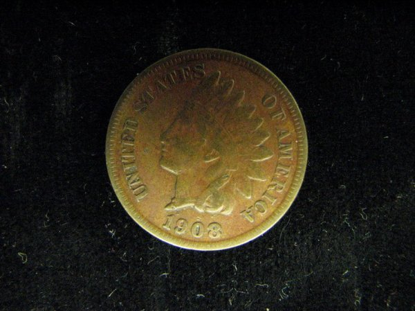 3792: 1908-S U.S. INDIAN HEAD CENT