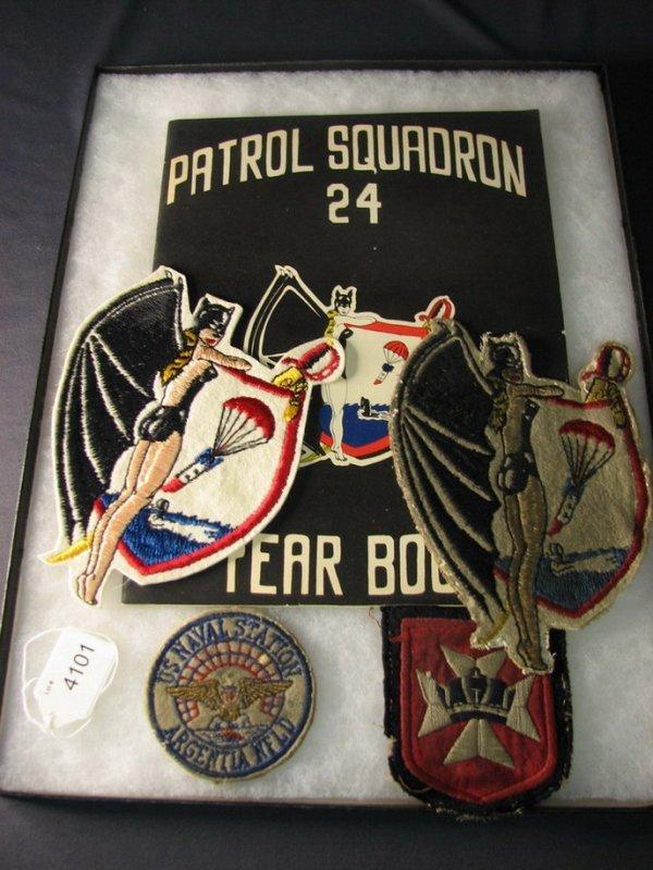 4101: U.S. MILITARY PATCHES PATROL SQUADRON 24