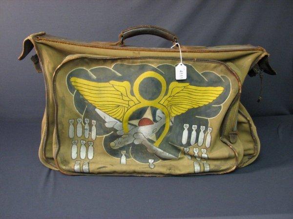 4111: WWII U.S. BOMBER PILOT FLIGHT BAG