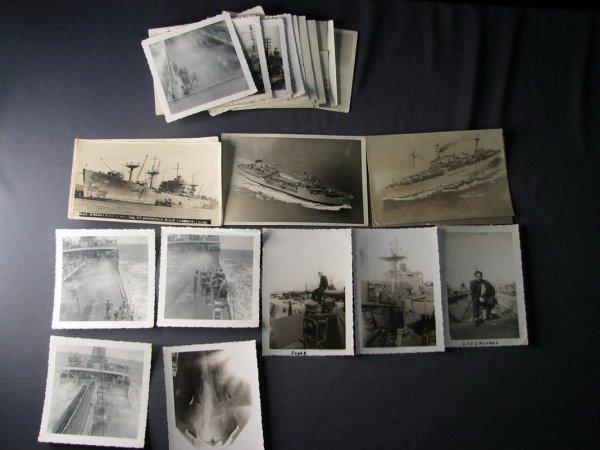 4124: WWII U.S. SHIP PHOTOS