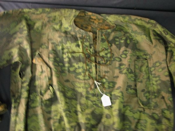 4238: WWII GERMAN CAMOUFLAGE SMOCK