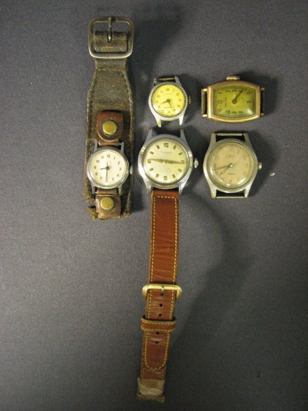 4516: 5 VINTAGE WRIST WATCHES