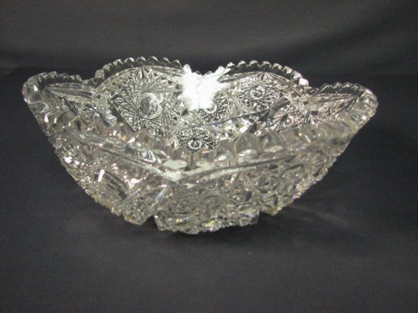4519: ABP CUT GLASS BOWL