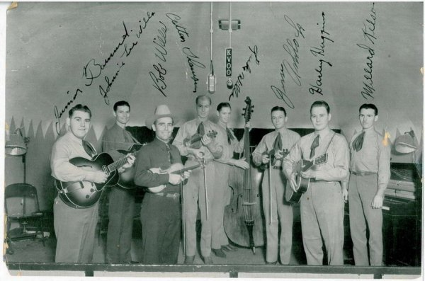 4522: COPY OF BOB WILLS AND THE TEXAS PLAYBOYS  PHOTO
