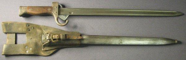 5006: FRENCH M1892 MANNLICHER BERTHIER BAYONET