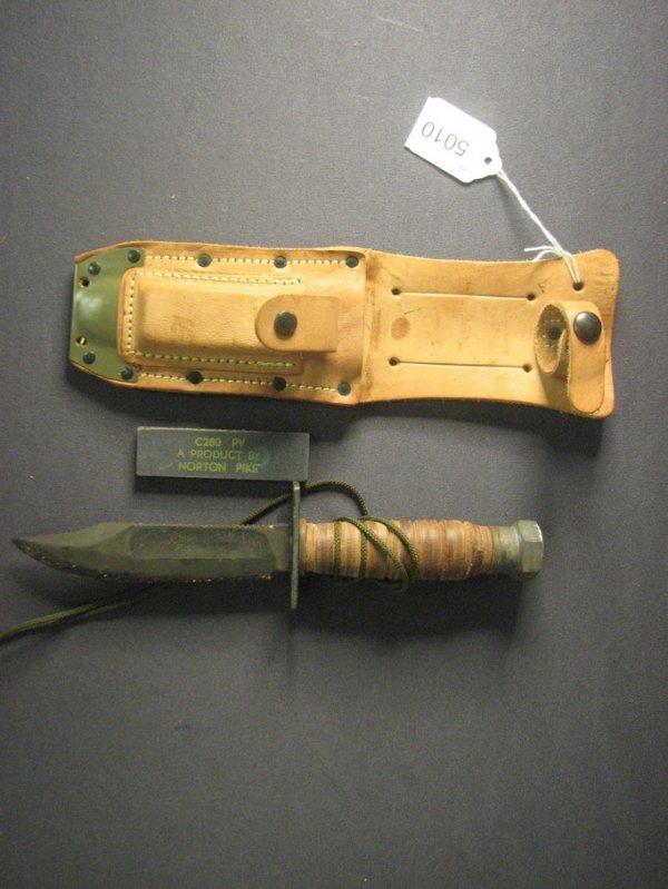 5010: U.S. GOVERMENT ISSUE VIETNAM ERA SURVIVAL KNIFE
